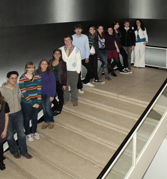 Group photo of the 2011 Future Curators