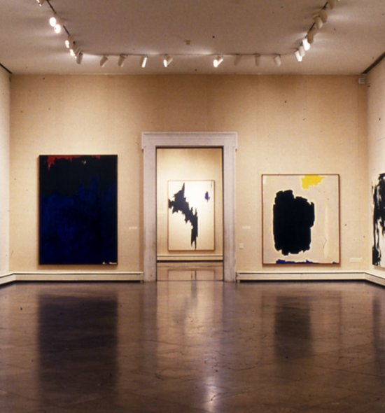 Installation view of the special exhibition Clyfford Still: The Buffalo and San Francisco Collection
