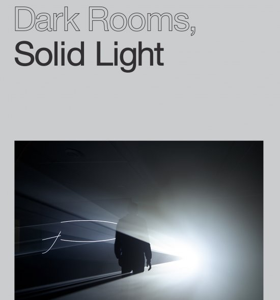 Cover of Anthony McCall: Dark Rooms, Solid Light exhibition gallery guide