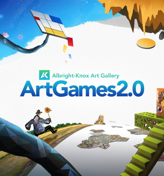Digital artwork for ArtGames 2.0